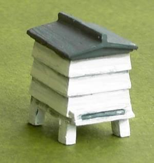 Finished 1/48th scale Beehive