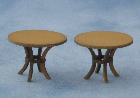 1/48th scale Round Tables Kit