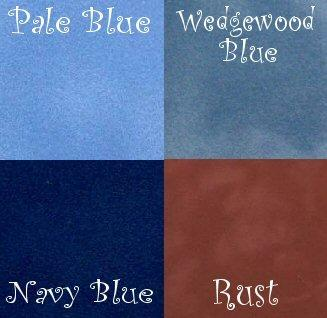Velvet paper, very short pile, ideal for 1/24th scale fitted carpets, blues