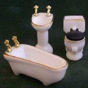 1/24th scale Bathroom Furniture