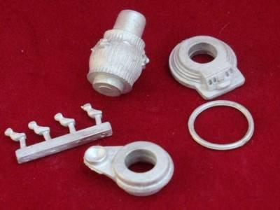 1/48th scale Pot Belly Stove kit