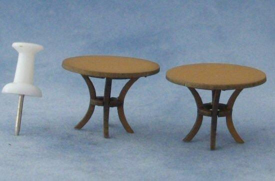 Quarter scale Round Tables Kit