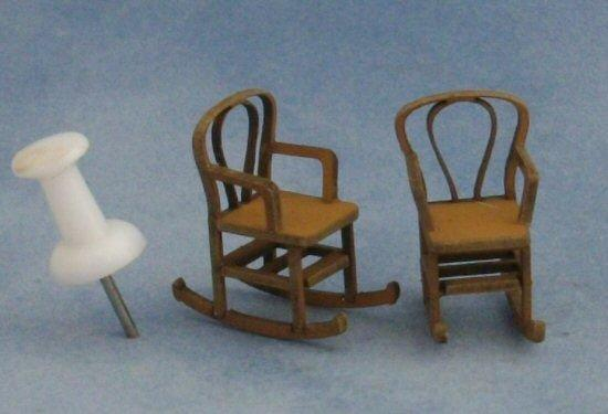 1/48th scale Two Bentwood Rocking Chairs Kit