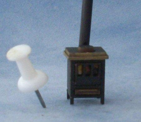 1/48th scale Stove Kit