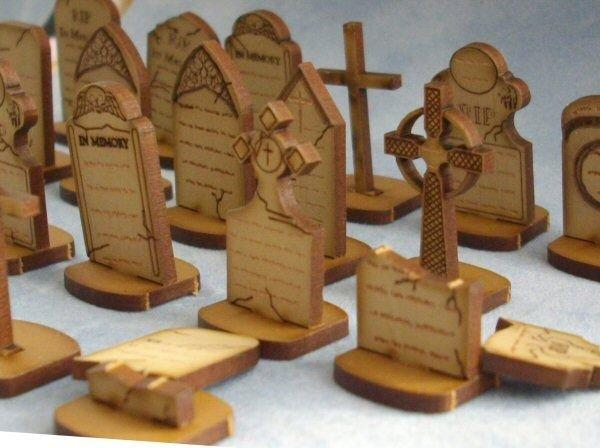 Quarter scale Gravestones Kit