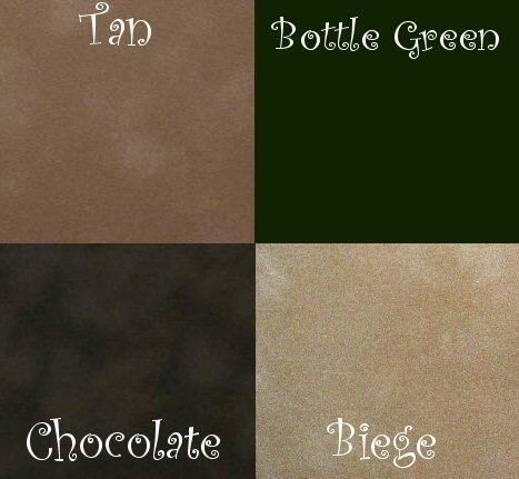Velvet paper, very short pile, ideal for 1/24th scale, browns fitted carpets