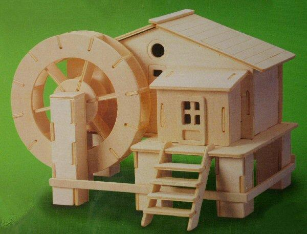 1/48th scale Water Wheel House Kit