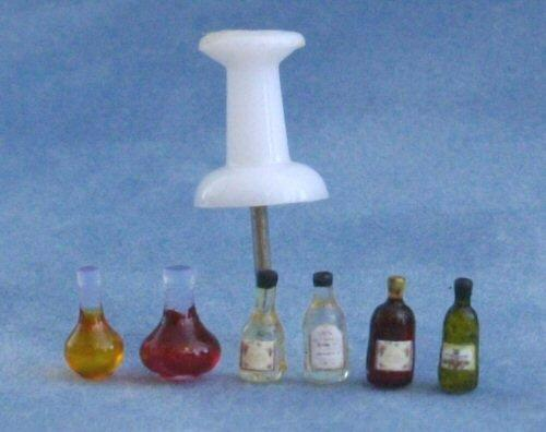 Quarter scale Wine Bottles and Decanters