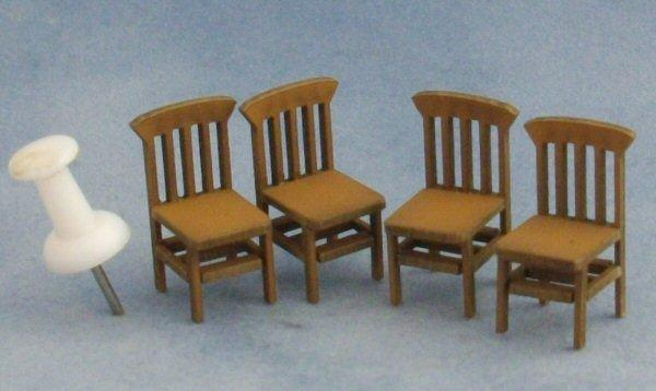Quarter scale Bannister Back Chairs
