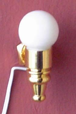 A 1/24th scale Dolls House Globe Shade Wall Sconce