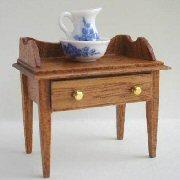 1/24th scale Handmade Mahogany Furniture