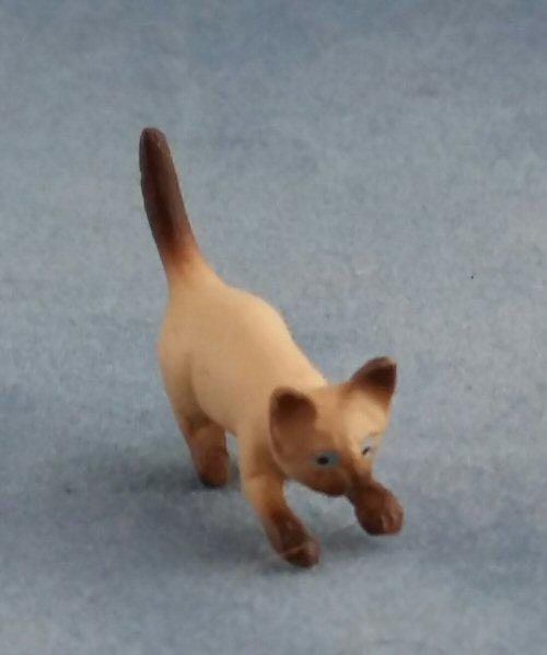1/24th scale Lovely Siamese Cat