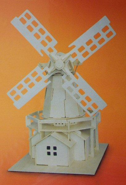 1/48th scale Wooden Windmill kit