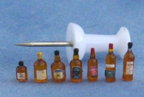 1/48th scale Whisky Bottles