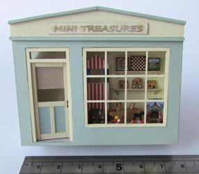 1/48th scale Pocket Toy Shop Kit by Jane Harrop