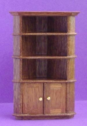 1/24th scale Handmade Corner Cupboard
