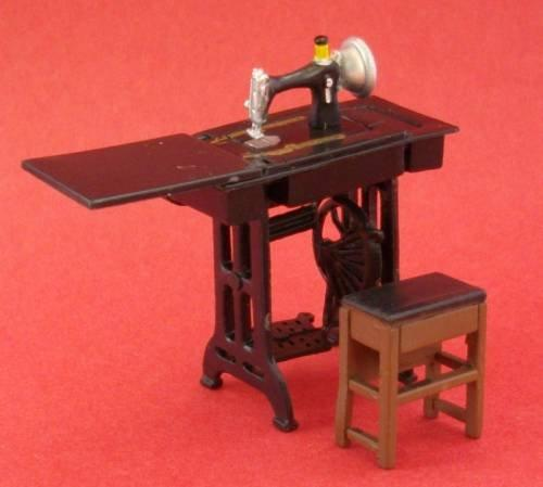1/24th scale Treadle Sewing Machine