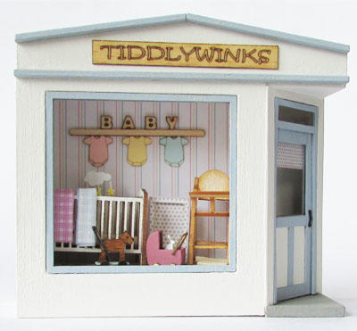 1/48th scale Pocket Baby Shop Kit