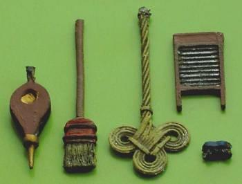 1/48th scale painted Housework Accessories