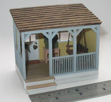1/48th scale Front Porch Kit by Jane Harrop