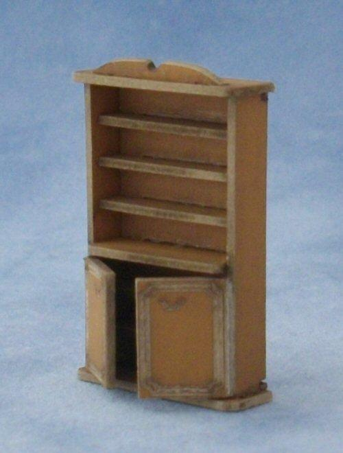 1/48th scale Bookshelf Cupboard Kit