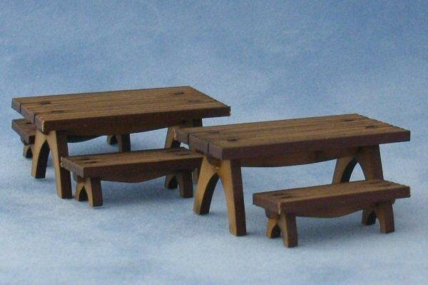 Quarter scale Picnic Tables and Benches Kit