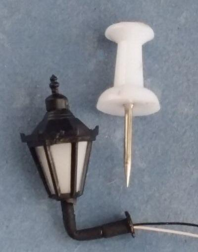 Quarter scale Victorian Street Wall Lamp LED