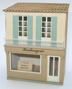 1/48th scale French Shop Kit