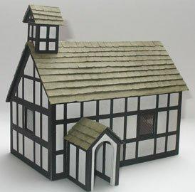 1/48th scale Church Kit