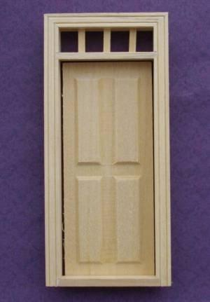 1/24th scale Houseworks 4 Panel Door
