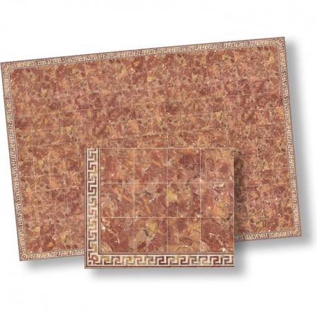 1/24th scale Red Marble Floor Tiles
