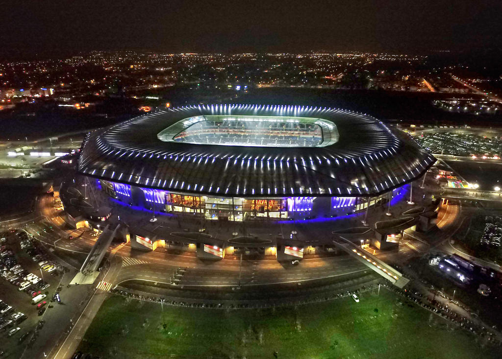 Philips Lighting Transforms Stadium Olympique Lyonnais