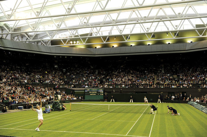Wimbledon goes LED
