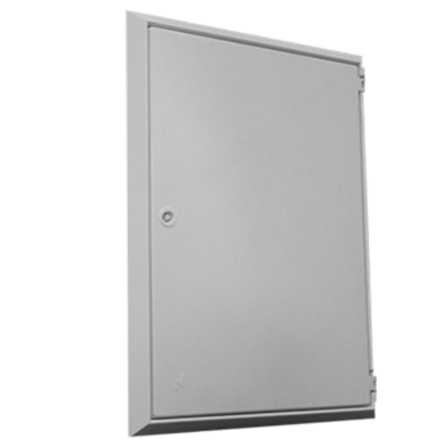 Meter Box Cover / Over Box - White - 485 x 685 x 40mm