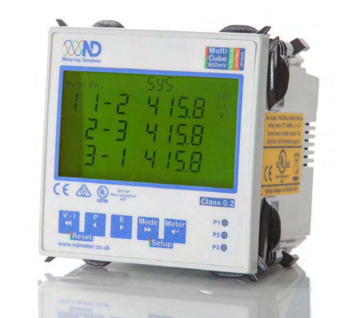 ND Metering Solutions - MultiCube 950mV with Modbus & Harmonics