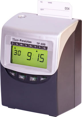 TP-400 Clocking In System