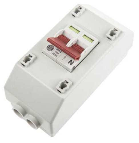 Isolator Switch - Single Phase - 100 Amp