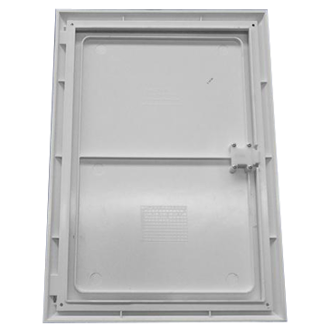 Meter Box Cover / Over Box - White - 485 x 685 x 40m