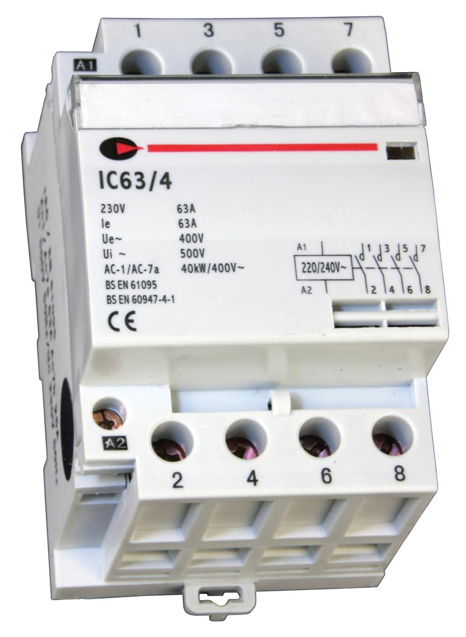 IC 63/4 - 63 Amp Contactor