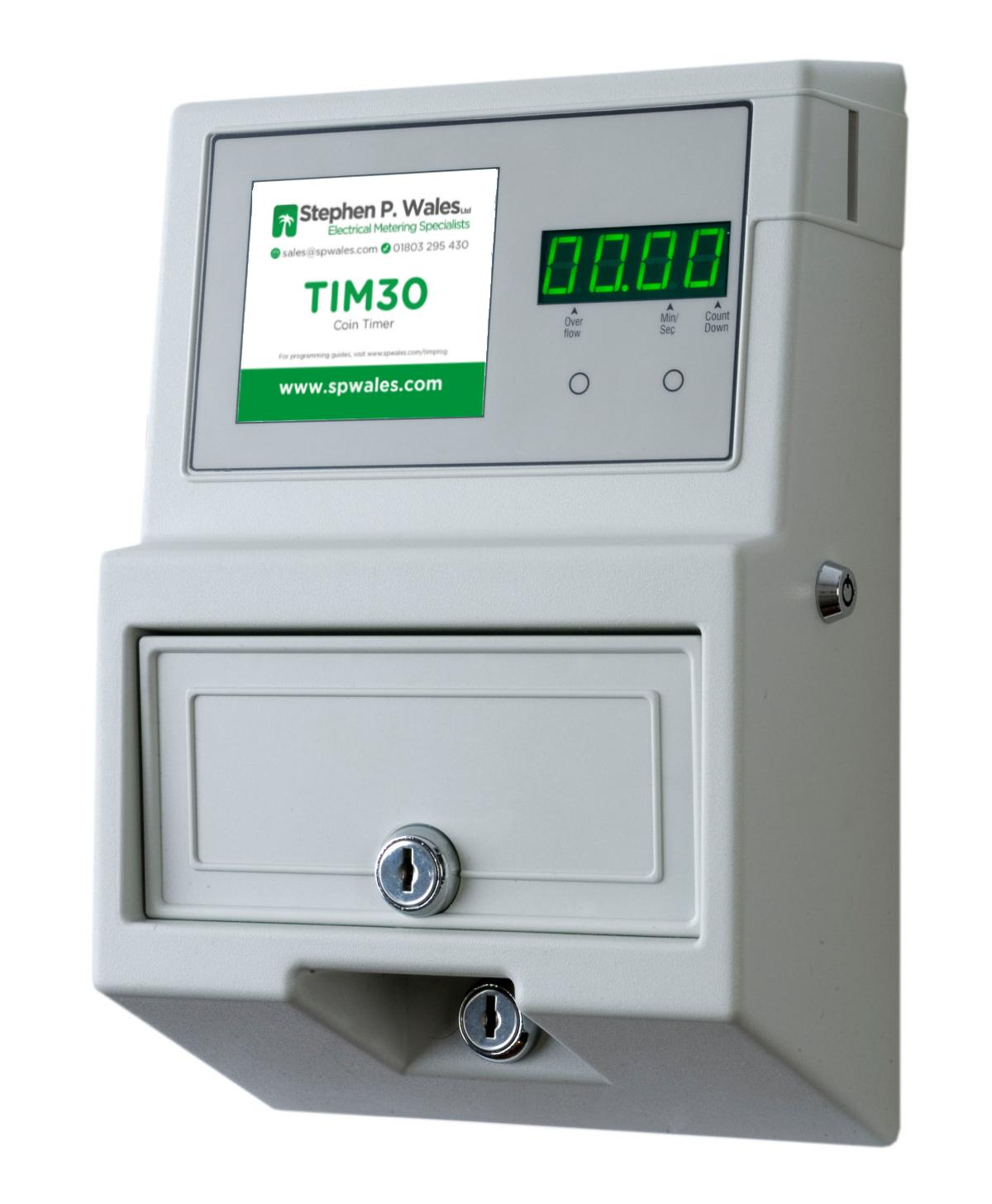 TIM30 Coin / Token Meter
