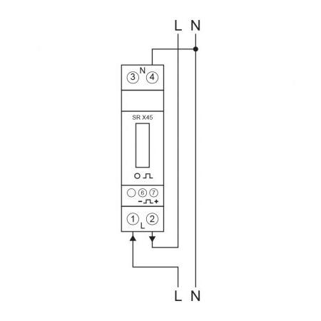Eastron SDM120D - Wiring