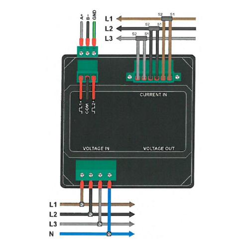 Eastron - Smart X96-5E - Wiring