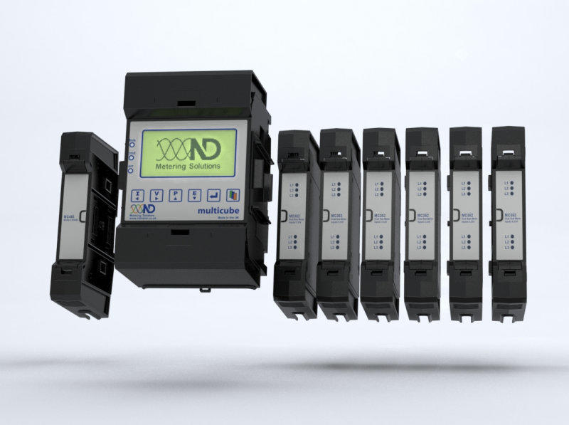 ND Metering Solutions - MultiCube Modular - Master + Module