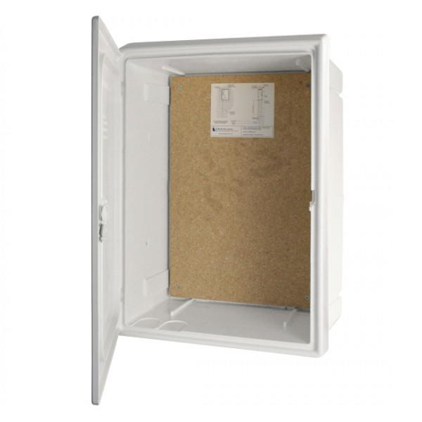 Meter Box - Recessed - White - 409 x 595 x 210mm