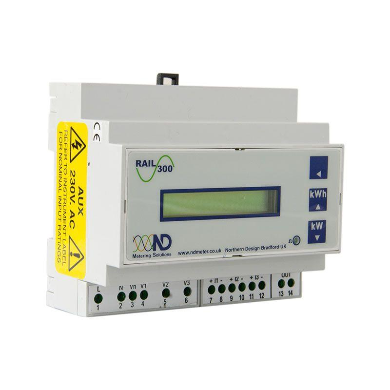ND Metering Solutions - Rail 300 with Modbus
