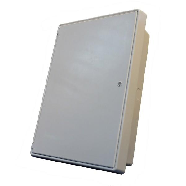 Meter Box - Recessed - White - 550 x 770 x 210mm