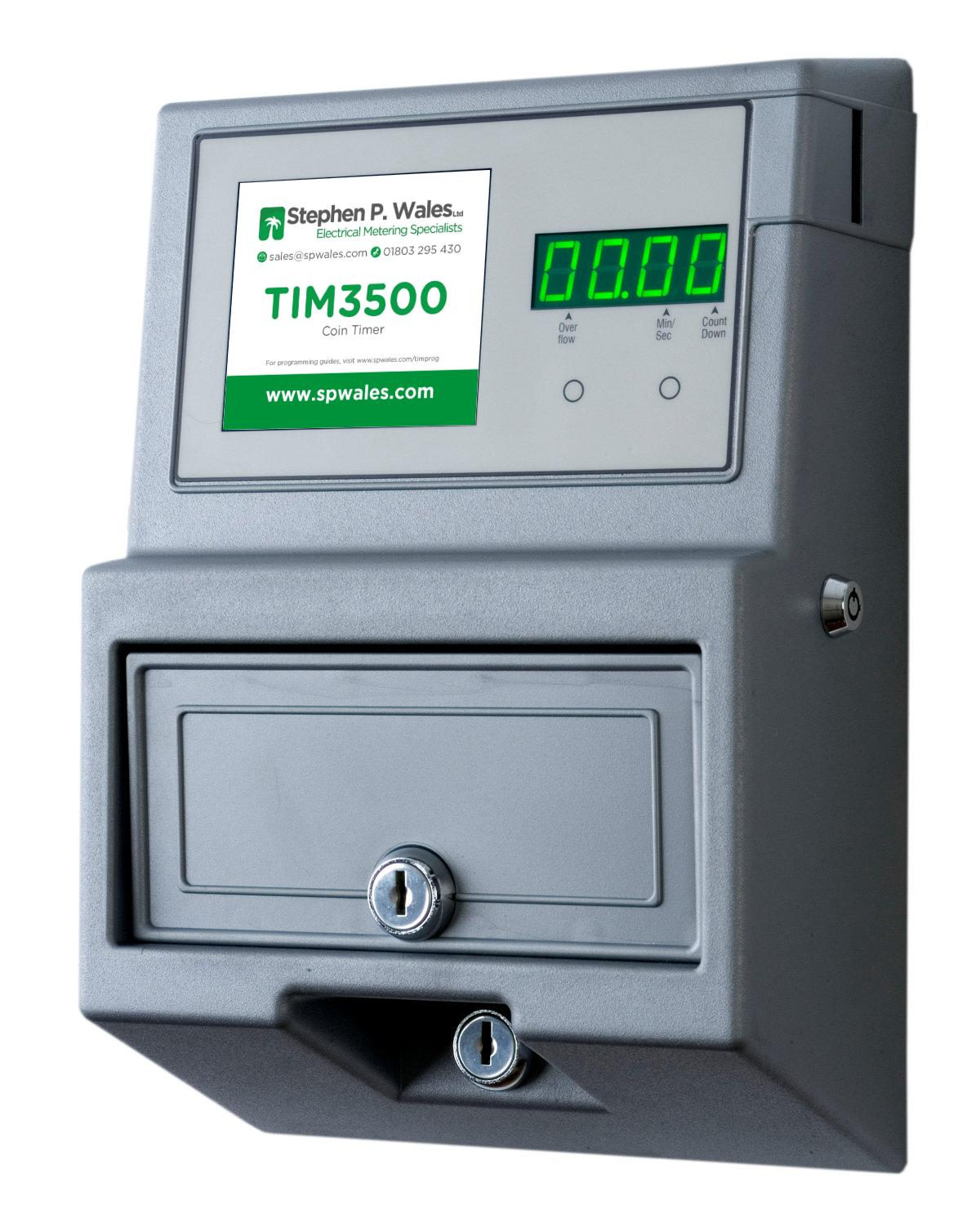 TIM3500 Coin / Token Meter