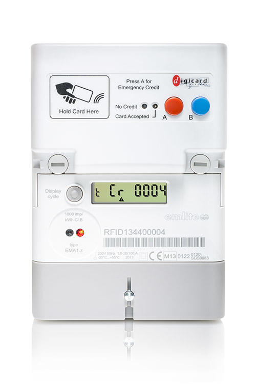 DigiCard RFID Prepayment Card Meter