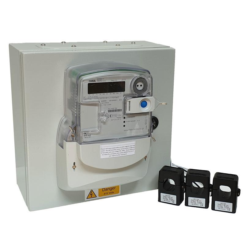 Three Phase Wall Mount Metering Kit