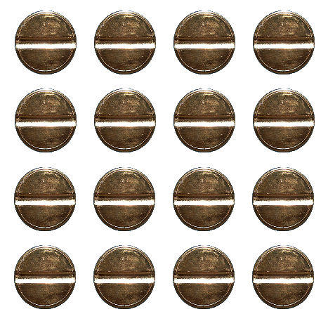 L1 Single Groove Tokens